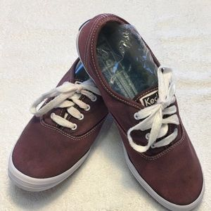 """Keds """"navy till I dyed them""""  7.5 athletic shoes"""